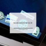 MacでニコニコやPrimeVideoをピクチャインピクチャ再生するのにぴったりNanoBrowser