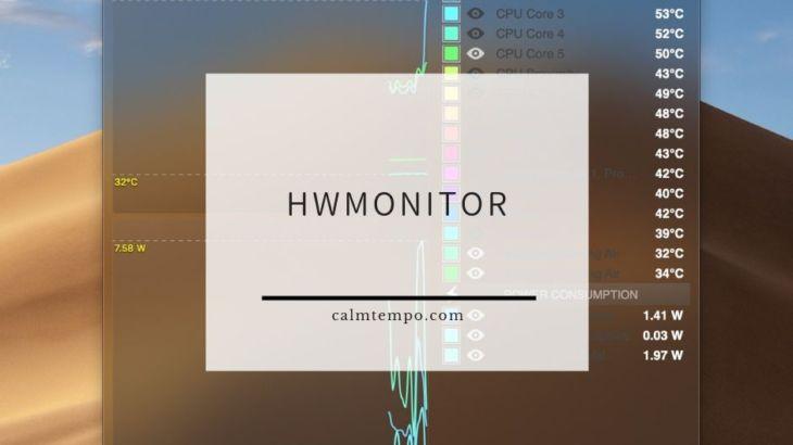 Macで無料の温度計測ソフトHWMonitor