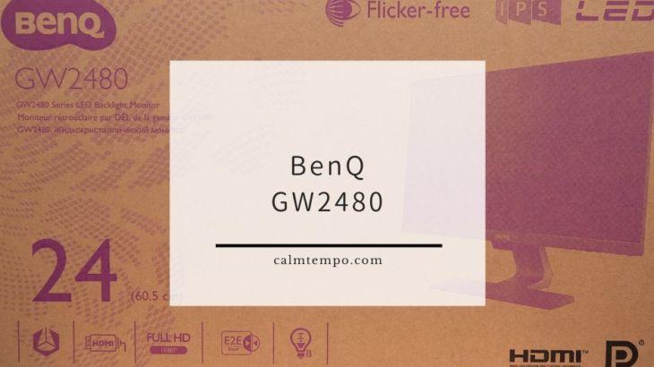 安いけど全部入り23.8インチモニターBenQのGW2480レビュー