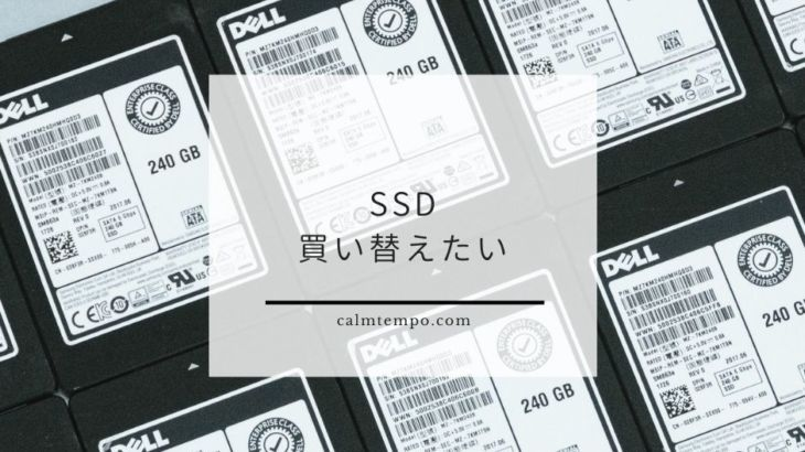 m.2のSSD欲しい